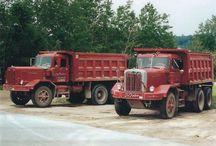 Old Autocar Trucks