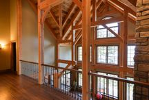 Timber Frame Architectural Details / Canadian Timberframes has a reputation for producing high end, affordable Douglas-fir timber frames. At Canadian Timberframes, quality and service are our highest priority. This priority is achieved by using our extensive experience in timber selection and processing by utilizing today's best design software, manufacturing equipment and by employing knowledgeable professionals at every stage of development.