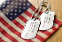 Veteran's Day / Celebrating our veterans and active duty military. Thank you for defending our freedom.