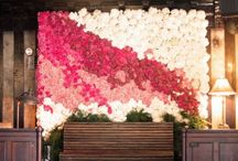 Wedding | Flower Walls / Flower Walls make a ideal back drop to any photo and ideal for a wedding. Here are some of our ideas. To arrange a flower wall for your special day in Woodlands contact David or Elaina.