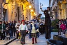 Show / Events / Street Circus / Circo di strada, spettacoli, eventi, tableau vivants