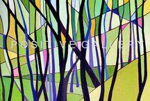 grafika/plakat / Reprodukcje prac malarskich w formie wydruku od Positive Gallery. Efektowne na ścianę ;)