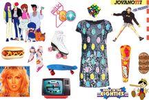 ☆ Eighties ☆ - iBlues '80 moodboard / I meravigliosi anni Ottanta #ibluesbday #letscelebrate