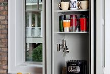 Details-hidden appliance storage solutions
