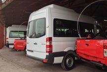 Equipamiento Minero para vehiculos / barras anti vuelco, pértigas, balizas, sensores de retroceso, parachoques minero.