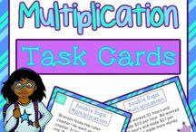 Multiplication - Two Digit Center