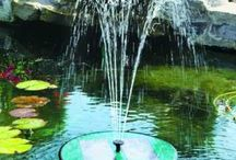 Solar Powered Water Features