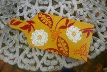 Minhas pinturas: decoração / itens ornamentais ou funcionais pintados à mão livre sobre madeira