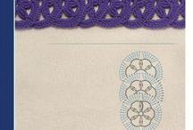 diversos puntos / técnica crochet