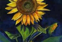 Art -- sunflowers