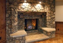 ADK INTERIOR FIRE PLACE IDEAS