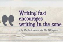 Writing : quotes and inspiration / Quotes and inspiration for #writers and when I feel a little down.