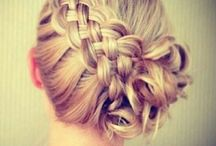 Hairdos / Ideas for festive hairdos