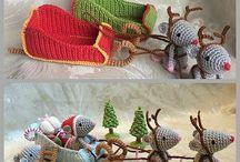 Broderie de Noël et décos de Noêl