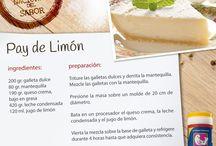 pay de limon / by Gina Ro