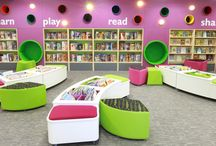 Library / Potential future library change - annexe?! Reading areas around school