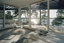 Modern Chalet / Pinning together ideas for a potential cabin in the woods...