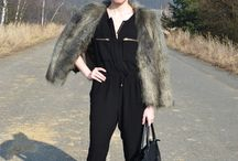 outfit1 / Fur, mango, leather shoes, fashion, spring