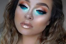 Mermaid makeup 8/17