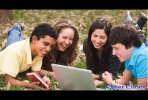 Cyber Civics / Cyber Civics is a middle school digital literacy program that meets an urgent and growing need to prepare students with the skills to be ethical, confident, and empowered digital citizens.  / by CyberWise