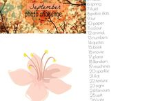 September photo challenge ♥