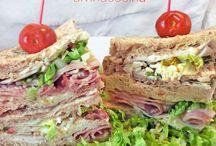 Recetas de sandwiches / Meriendas y cenas rápidas