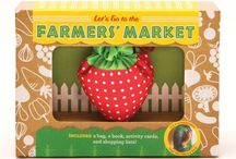 Farmers' Market Activities For Kids / Are you looking for some fun activities to do at the Market with your children? Take a look at these!