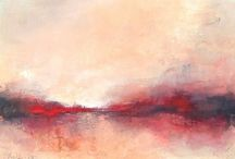 Abstract landscape, paysage abstrait
