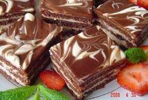 čokoládové zakusek