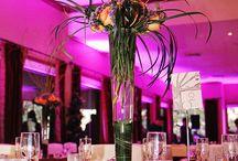 Wedding Uplighting - Indoor / Arrowhead DJ and Events' Indoor Wedding Uplighting