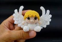 angelitos a crochet
