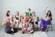 Big Latch On / The Global Big Latch On - celebrate World Breastfeeding Week! This is the Latch On in Pittsburgh, 2015 at the gorgeous Patricia June Photography studio with photos by Tricia and Sandy of Red Lotus Photography