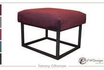 Ottomans by PHDesign, Inc