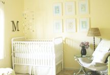Yellow Baby Nursery Decor / by Amy (ara133photography) Monko