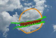 FelhőArt - CloudArt / Imádom a felhőket bodorítani, tologatni, és megfejteni is. Szórakoztató nagyon.