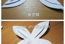 papírové