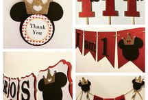 Mickey Mouse Prince Party