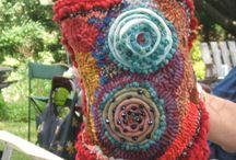 Fiber and textile art / Fabrics, fibers and textile inspiration