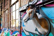 Springbok Rock / Faux Urban Taxidermy, sculpture, street art, Wild WestSide, Spingbok
