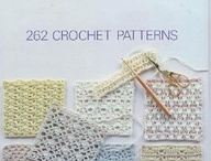 Crochet, knit, motif, stitch / Pattern and motif knit, crochet or tricot / by Carmen Beatriz