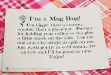 Quilt - Mug Rug