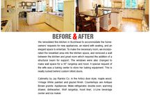 Before & After / Before & After images of remodel projects CSI Kitchen & Bath Studios designed and completed.