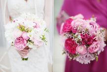 bouquet bliss / bride and bridesmaid bouquet ideas / by tammy noth bonovitz