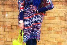Funky Hijab.