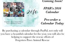 FPAR Swag / We occasionally have Forgotten Paws Swag available for purchase. Looking for something cool that's doggy related? Here is where you will find it.