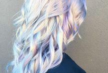 Hienot hiukset / hienoja hiuksia ja kampauksia