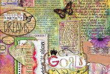 Hopes Dreams Goals Schemes, art book/ journal idea