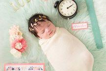 Nyfødt foto inspirasjon