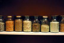 organiseren van kruiden en voorraad
