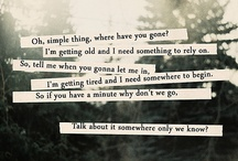 My Fav Lyrics / by Misty Powell